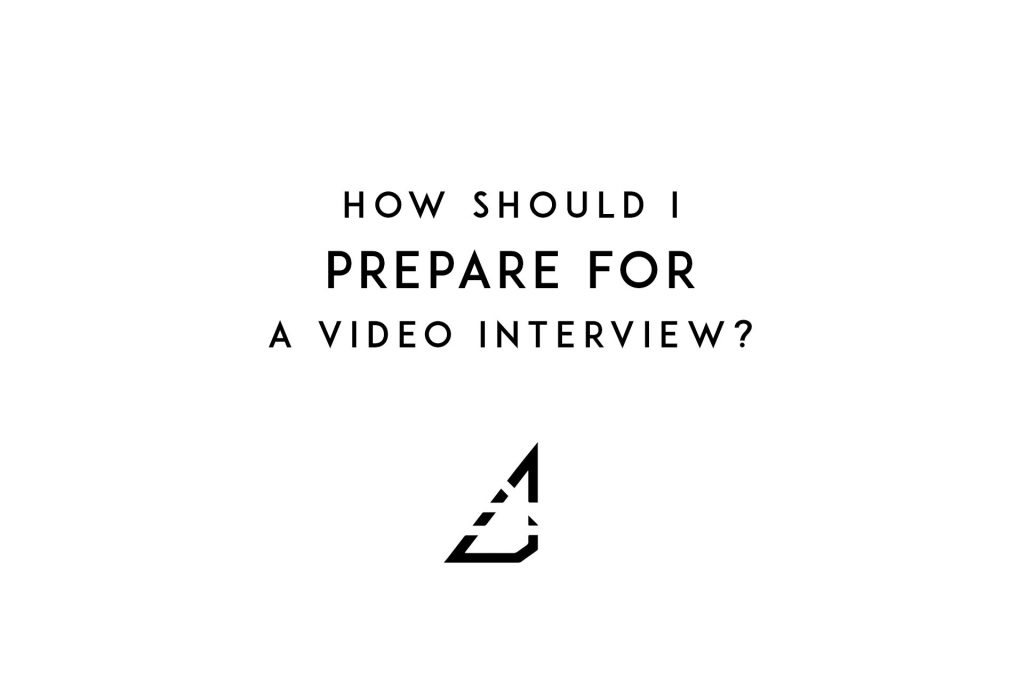 How should I prepare for a video interview